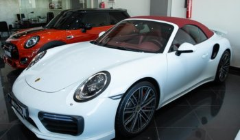 Used Porsche 911-turbo-cabriolet 2017