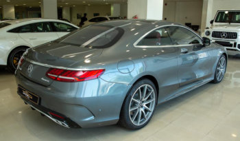 Mercedes-benz S-class-coupe 2018